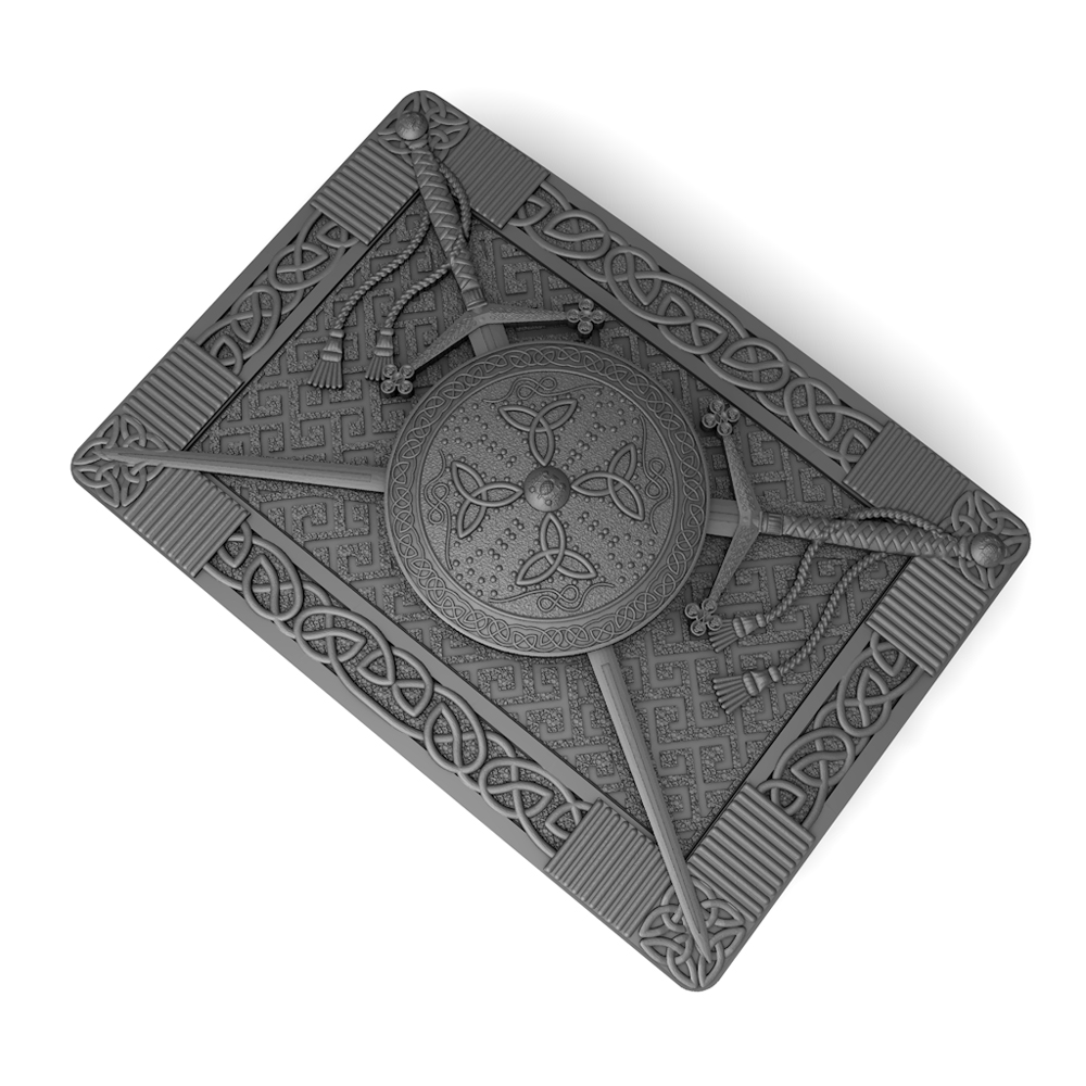Claymore and Targe render